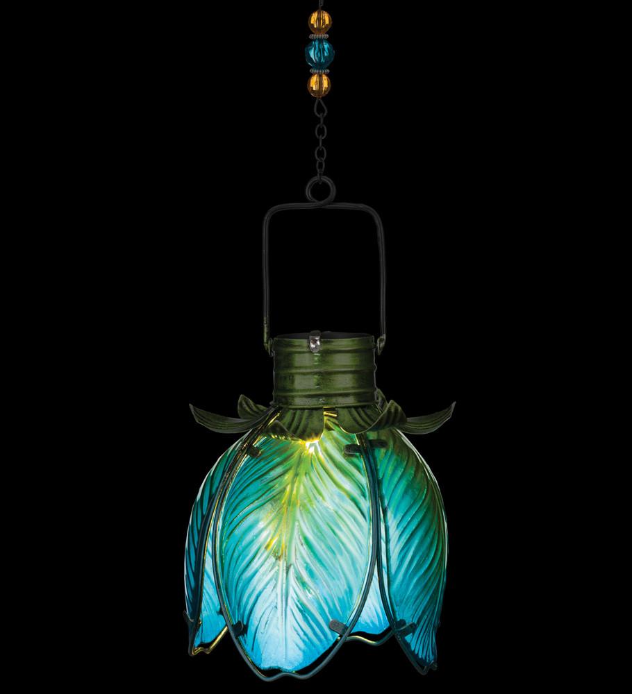 Solar Flower Lantern - Blue Iris
