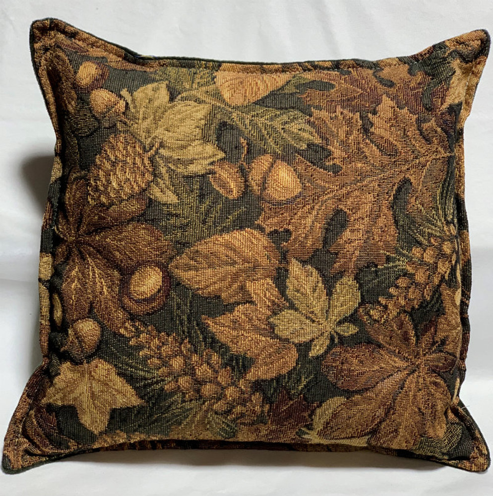 Leaf & Acorn - Balsam Fir Filled Pillow