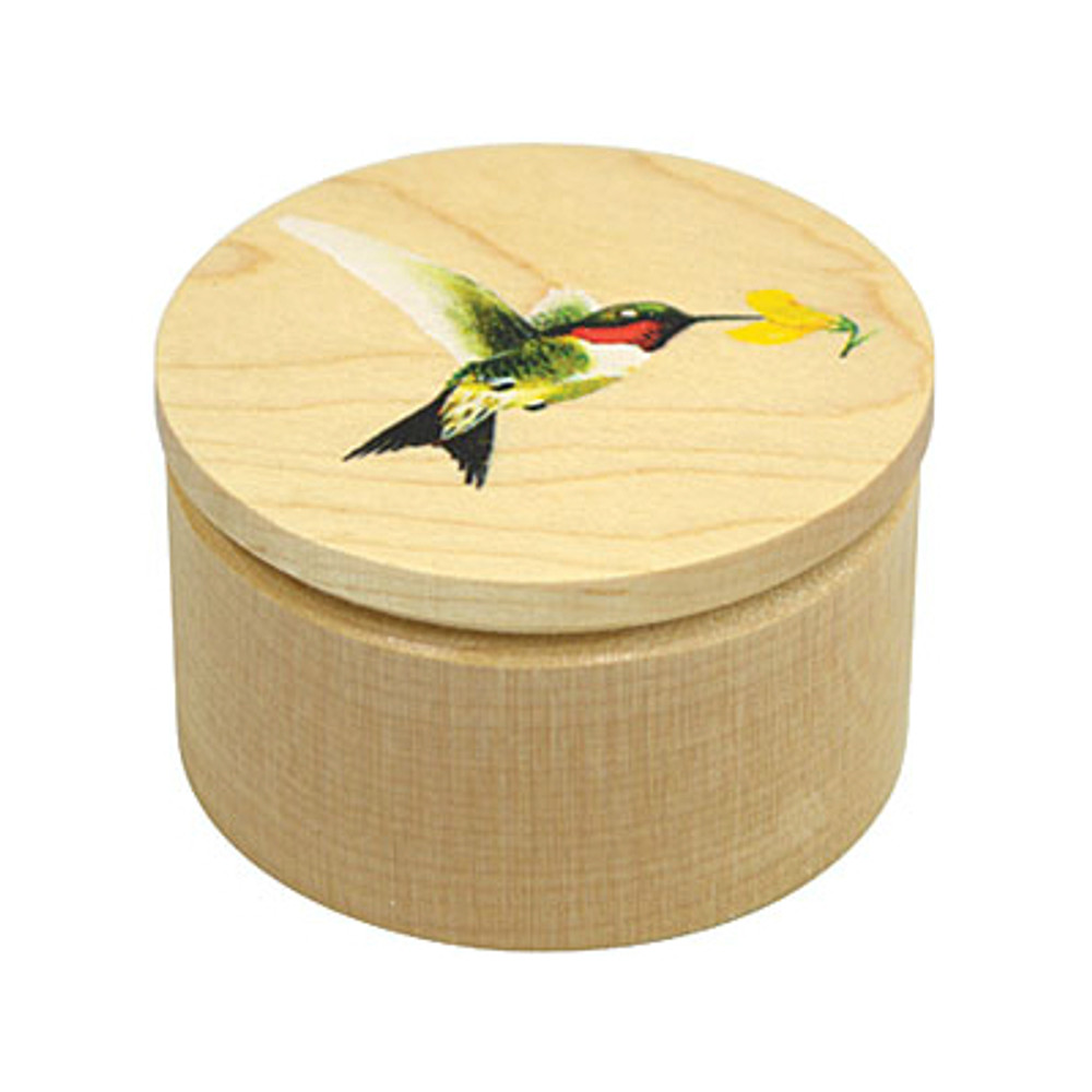 Hummingbird Trinket Box