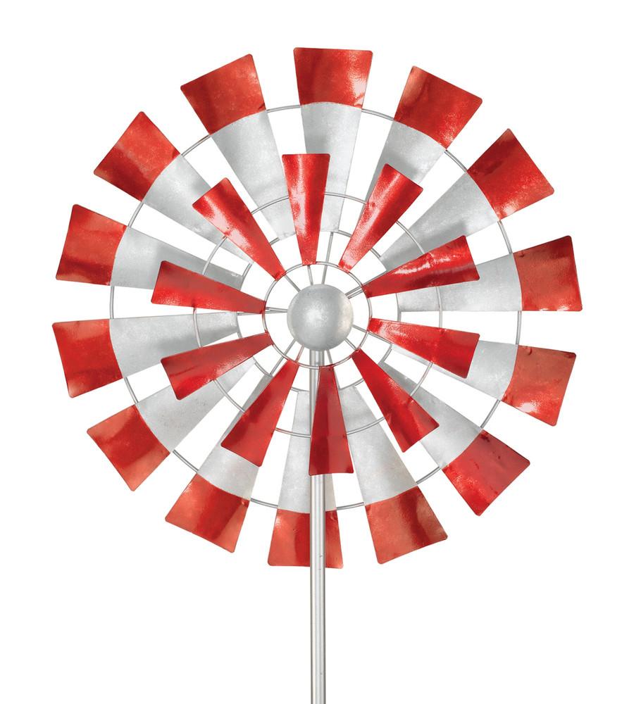 "Kinetic Wind Stake - 26"" Windmill"