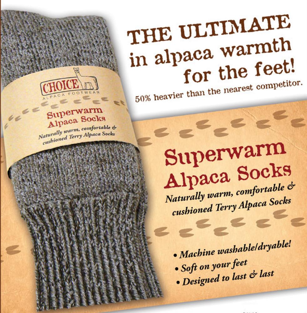 Alpaca Socks: The Cure for Cold Feet!