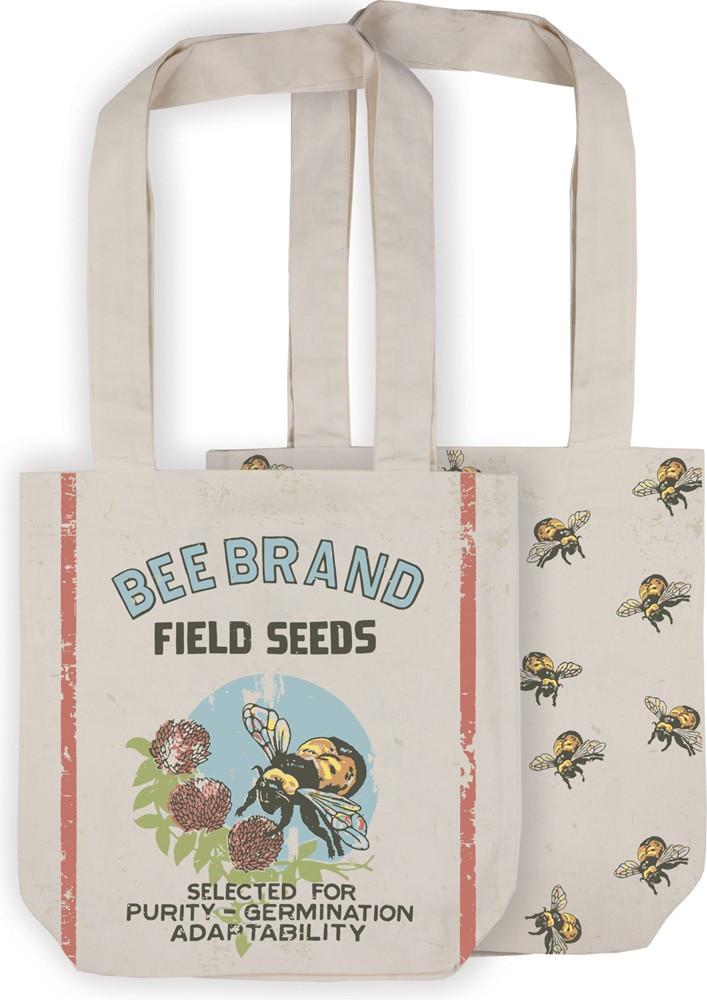 Market Tote - Bee Brand - Field Seeds