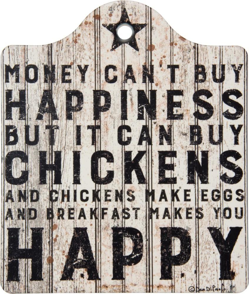 Stone Trivet - Buy Chickens