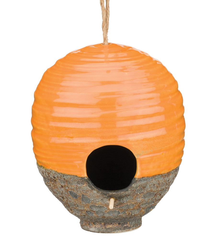 Ceramic Bird House - Beehive