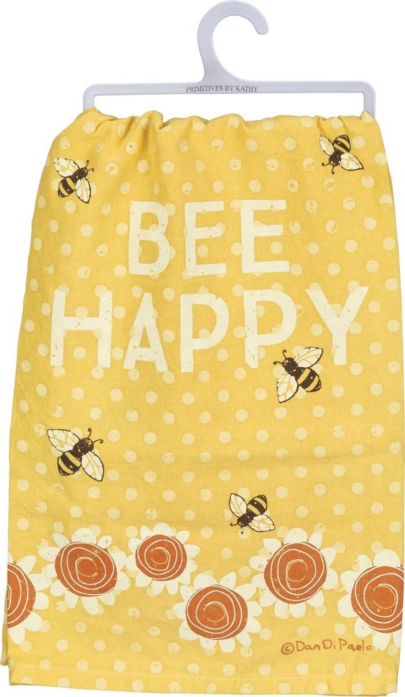 Dish Towel - Bee Happy