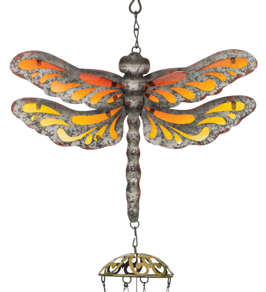 Garden Rustic Chime - Dragonfly