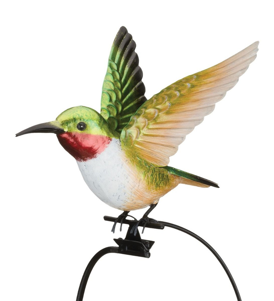 Rocker Hummingbird Garden Stake