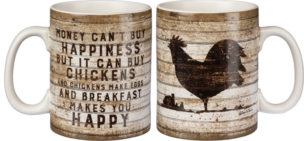 Mug, Coffee w/Chicken Design