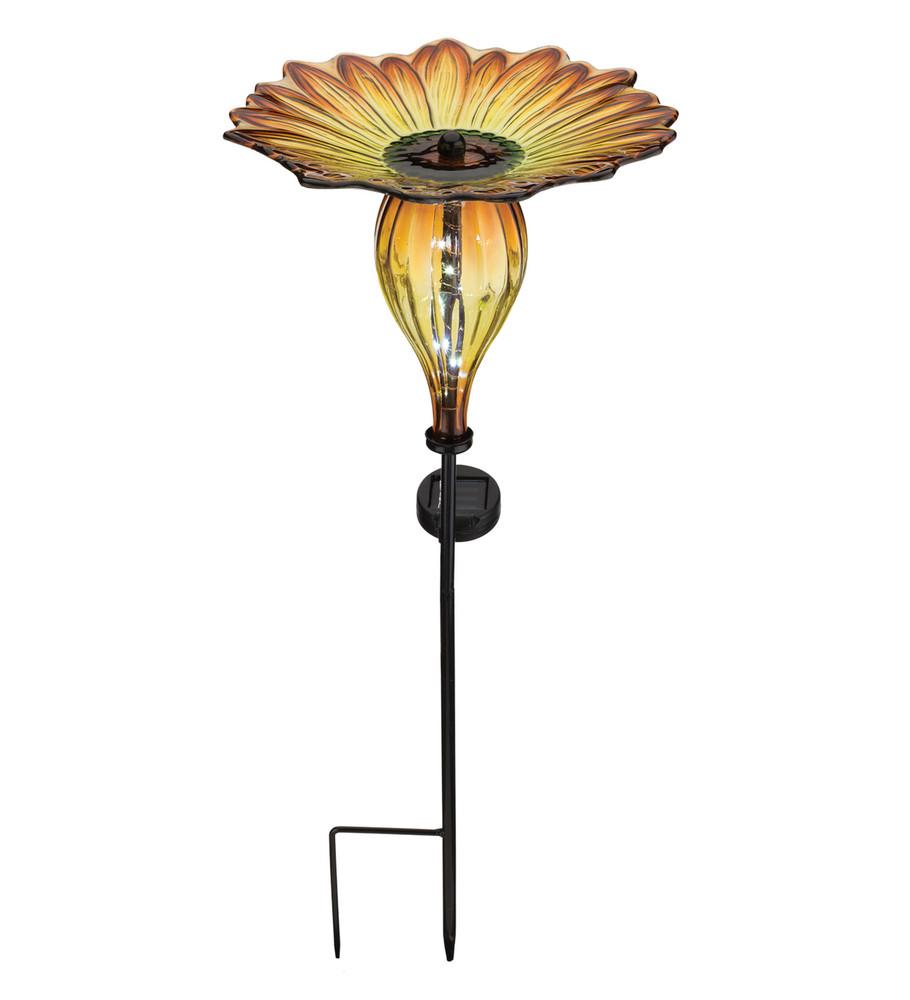 Solar Bird Feeder Stake - Sunflower
