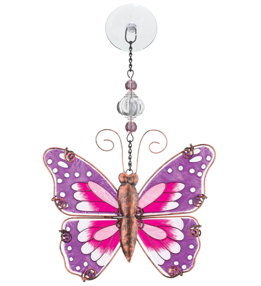 Sun Catcher - Pink Butterfly