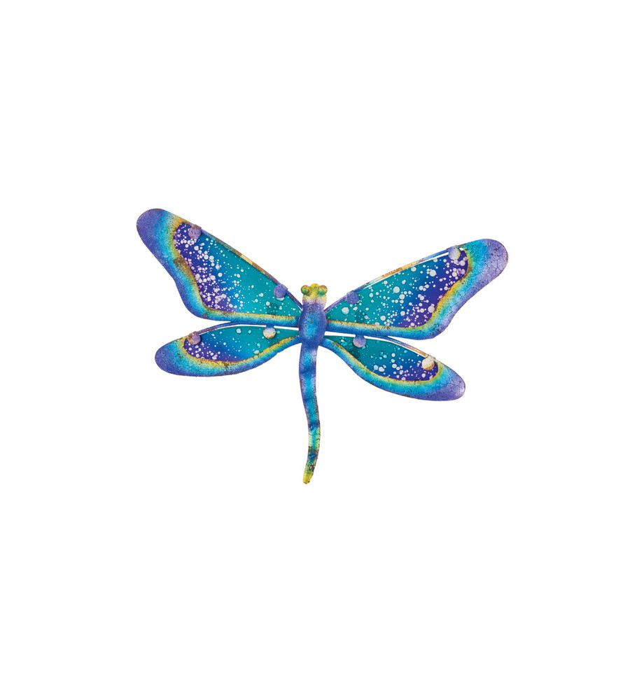Watercolor Wall Decor - Dragonfly 8""