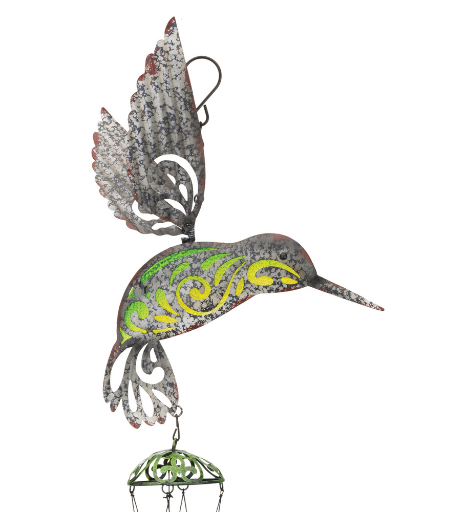 Garden Rustic Chime - Hummingbird