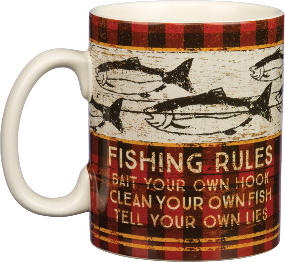 Jumbo Mug - Fishing Rules