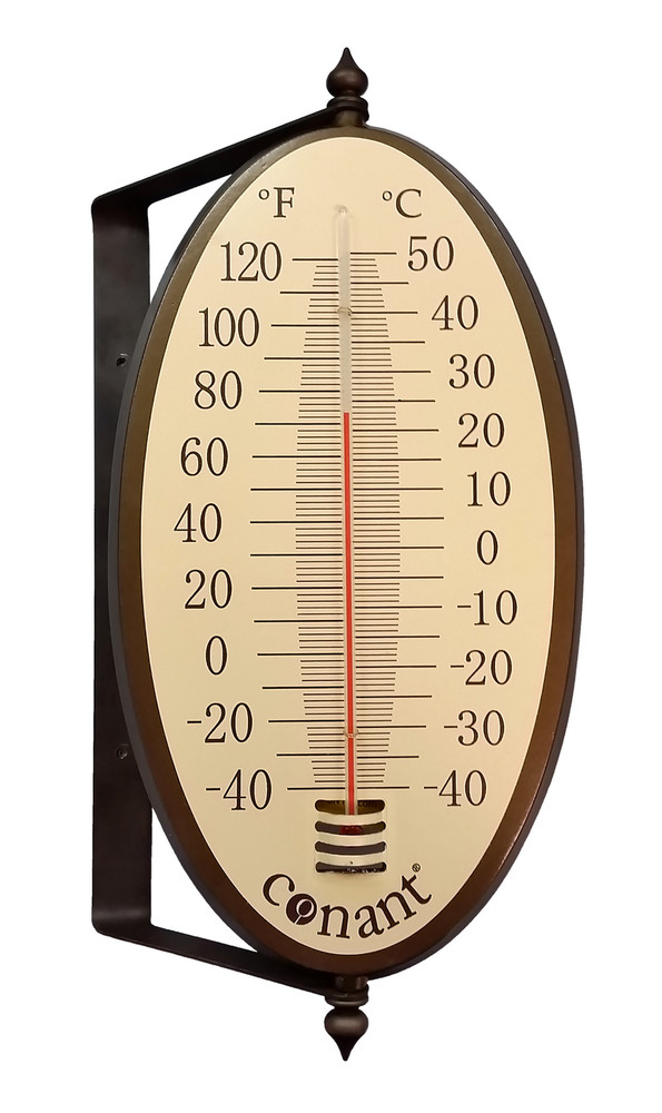 Vintage Oval Thermometer