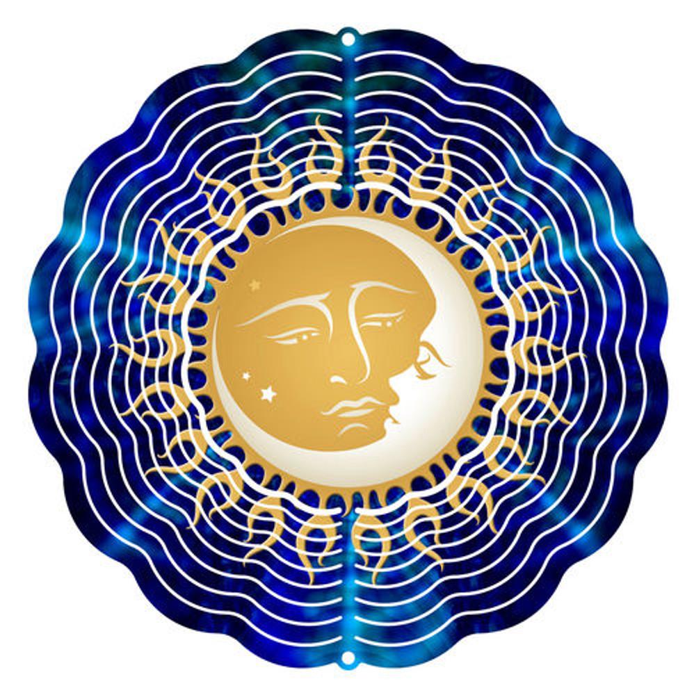 Kaleidoscope Wind Spinner Celestial Friends