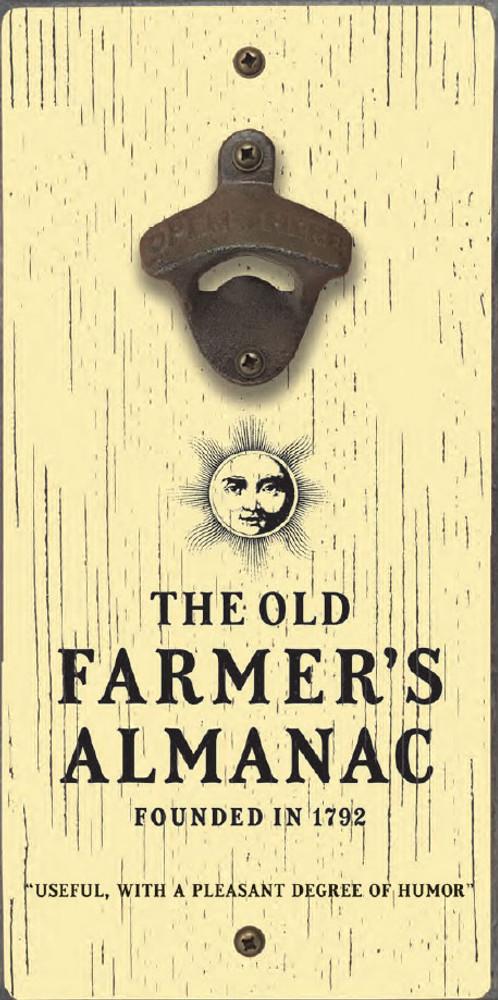 The Old Farmer's Almanac Bottle Opener