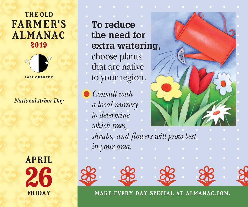 The 2019 Old Farmer's Almanac Everyday Calendar