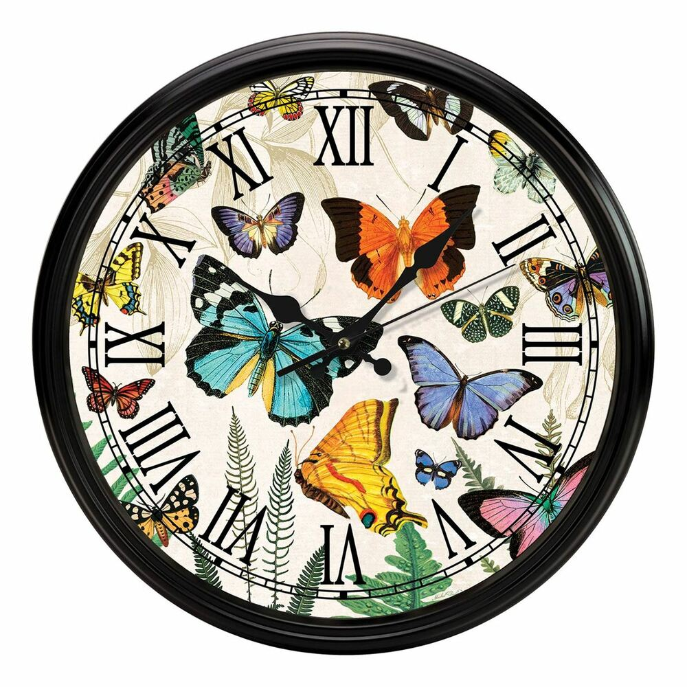 Papillon Kitchen Clock