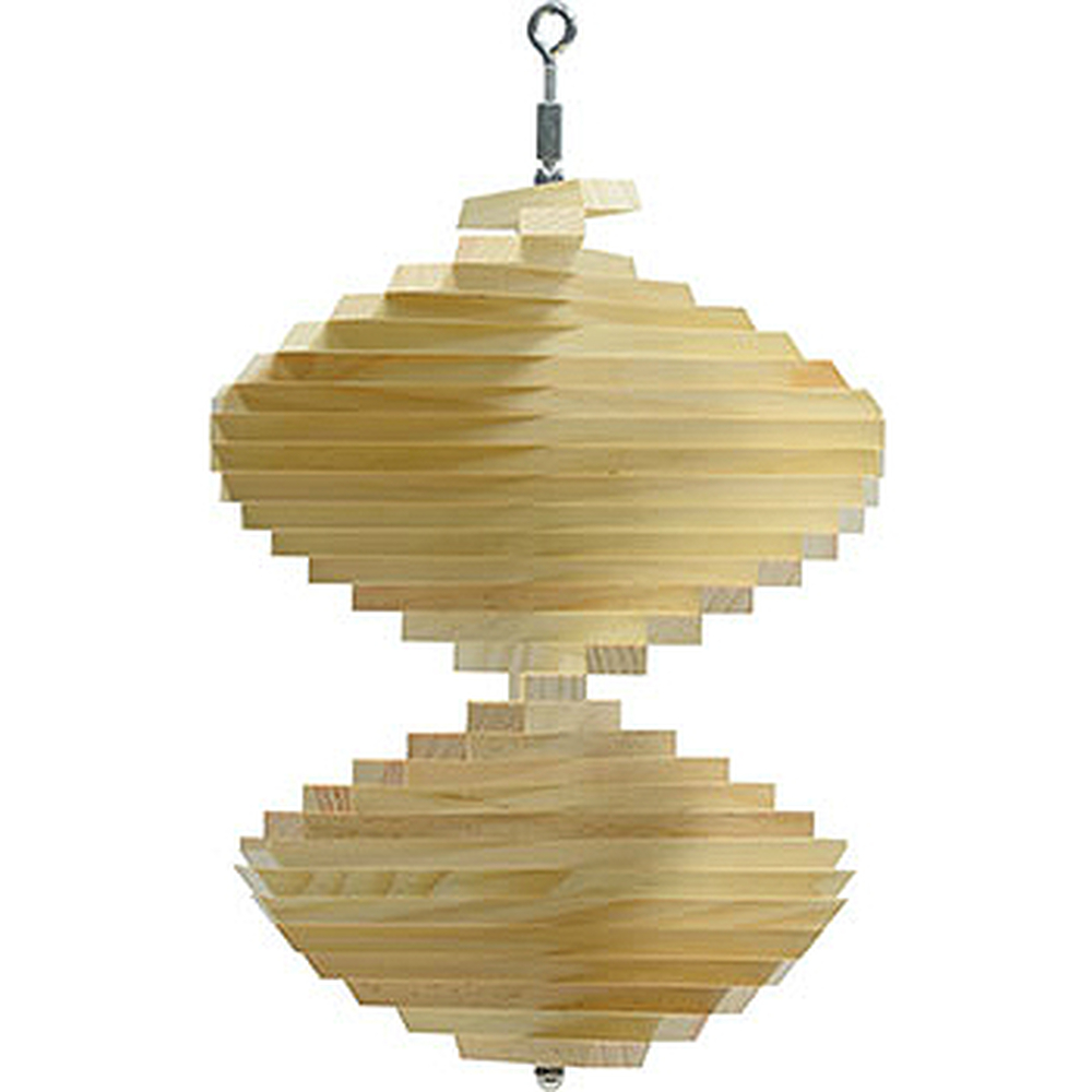 Natural Pine Wind Spinner