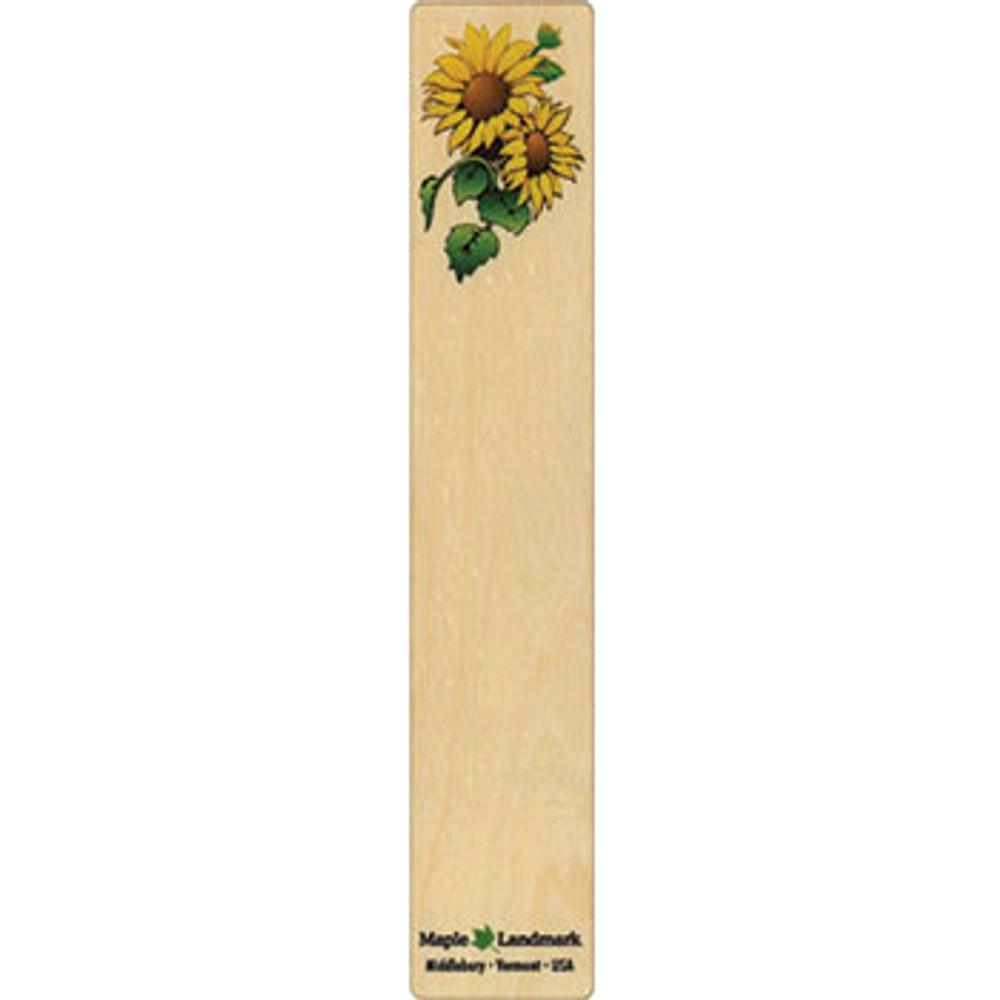 Sunflower Wooden Bookmark