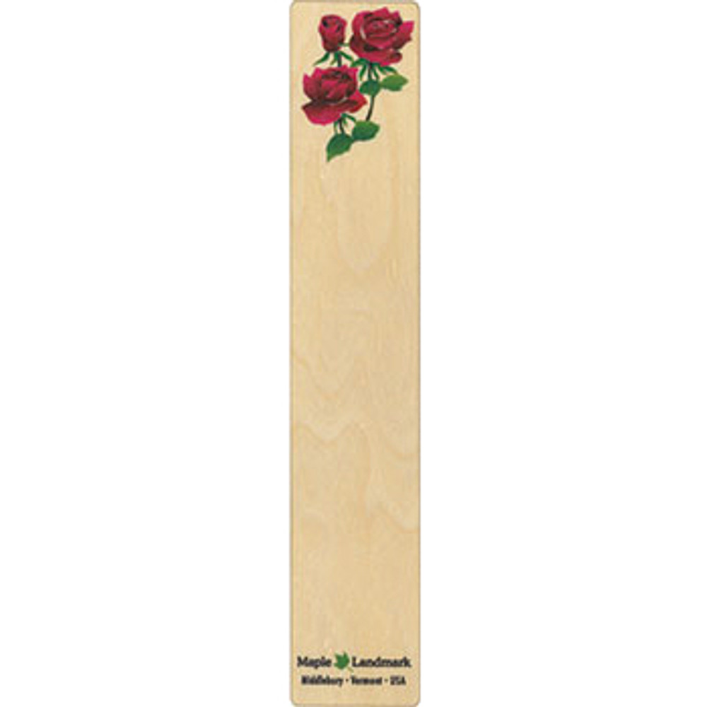 Rose Wooden Bookmark