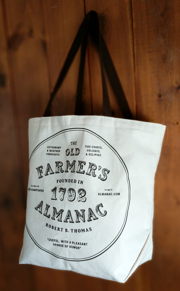 Farmers' Market Cotton Tote - Support Your Local Farmers