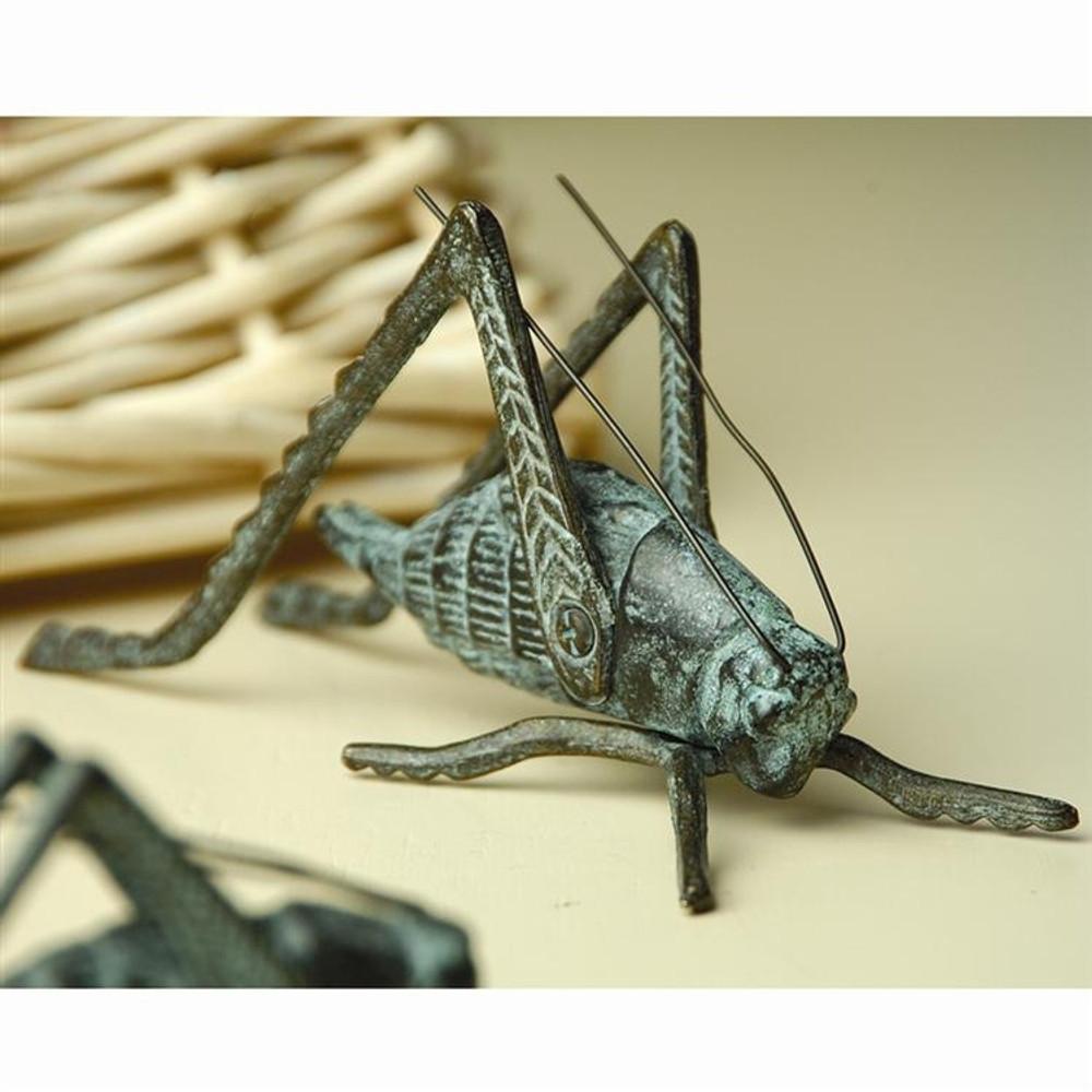 Large Brass Hearth Cricket