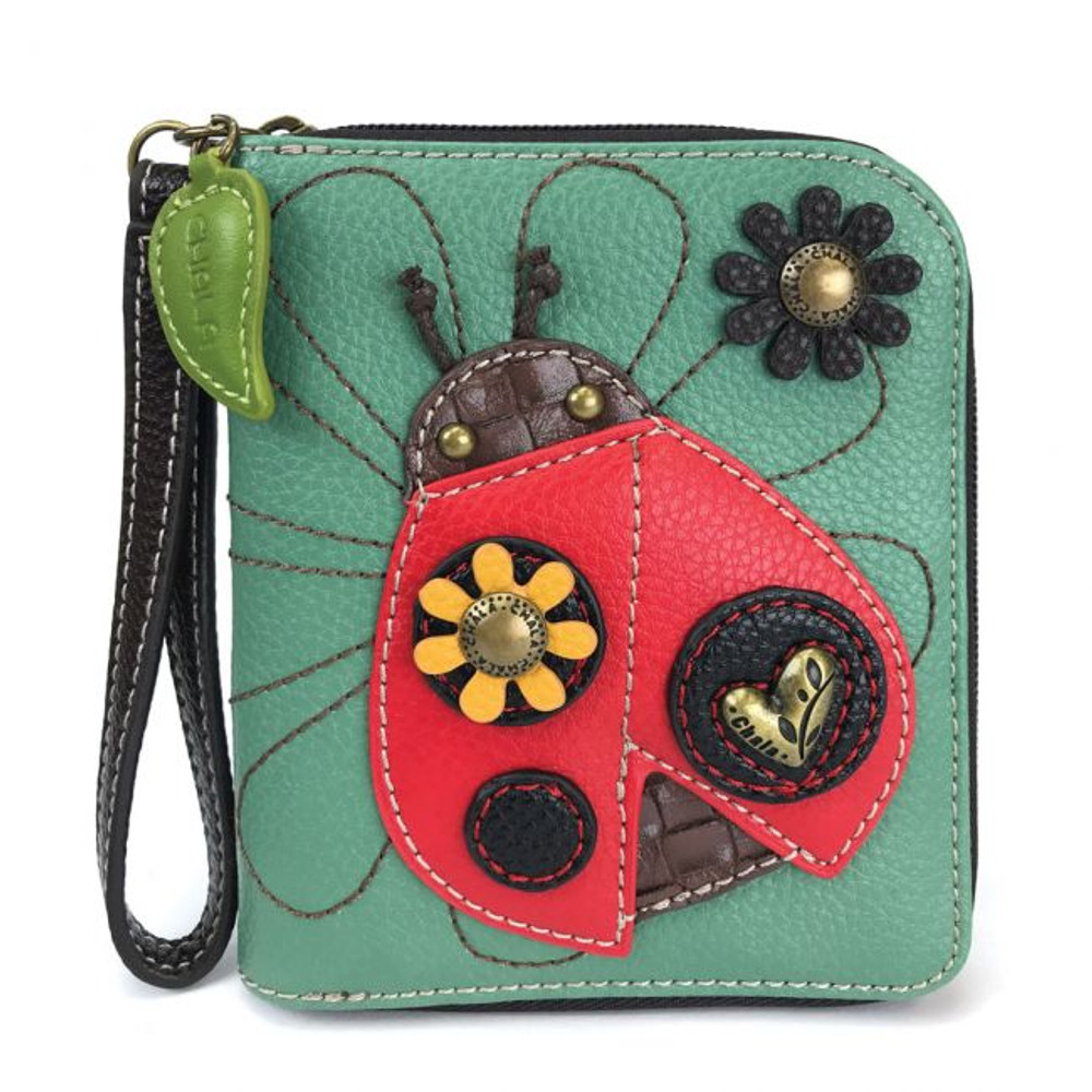 Zip Around Wallet - Ladybug