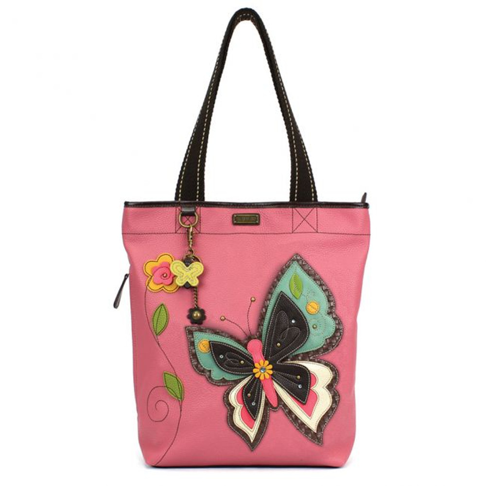 Everyday Zip Tote II - Butterfly
