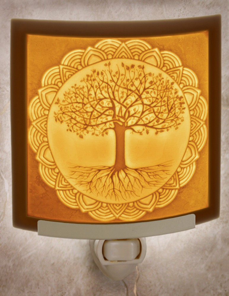 Lithophane Night Light - Tree of Life
