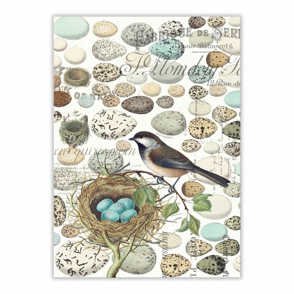 Nest & Eggs Kitchen Towel