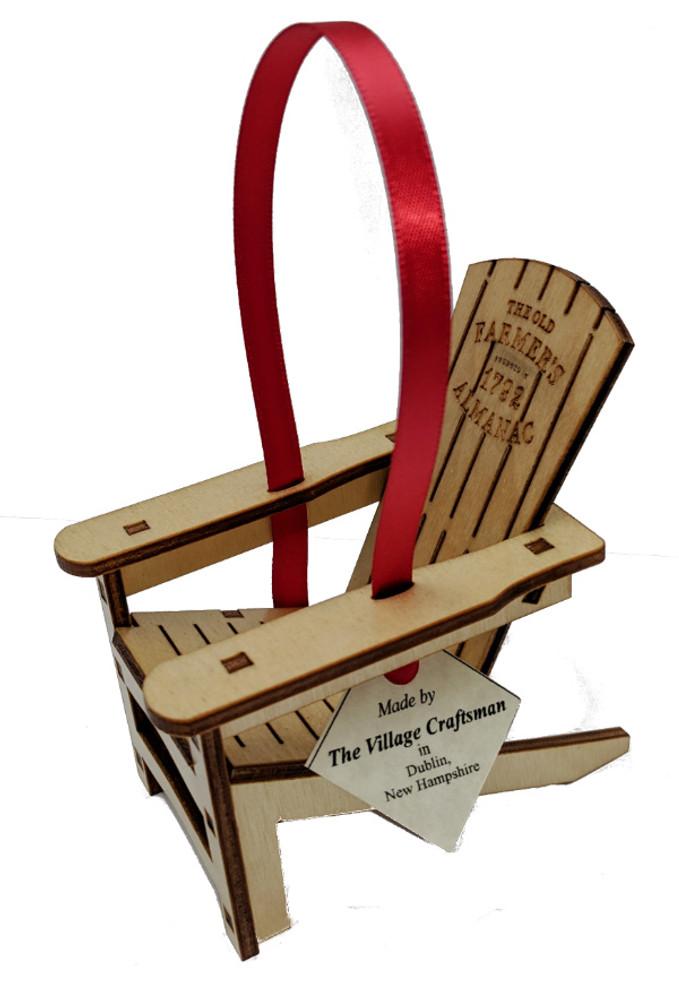 Old Farmer's Almanac Adirondack Chair Ornament