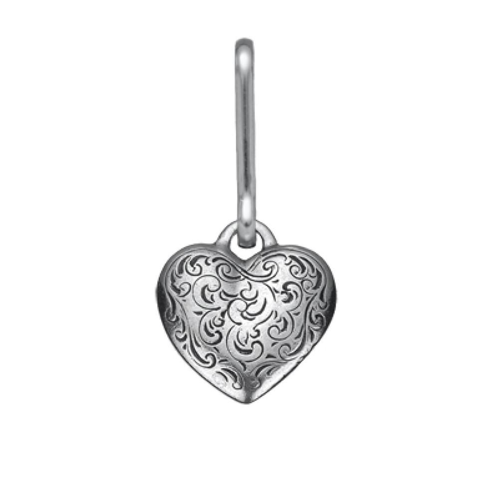 Florentine Heart Zipper Pull