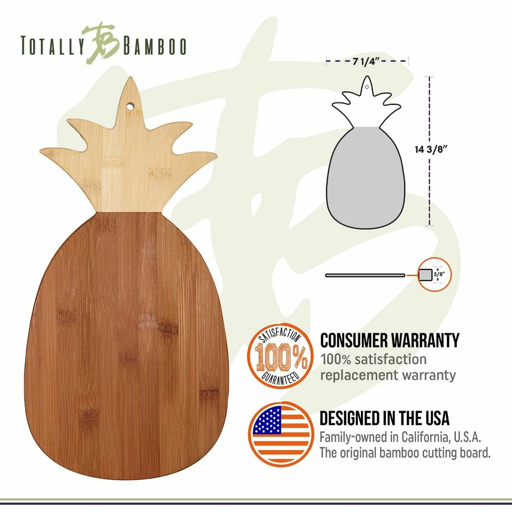 Pineapple Cutting And Serving Board
