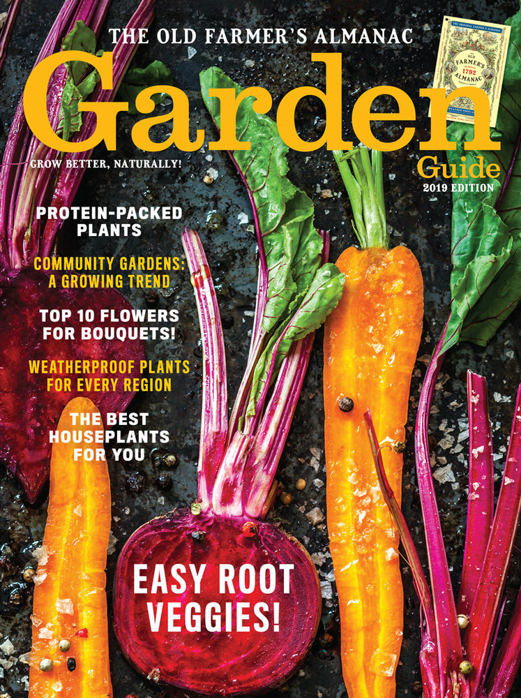 The 2019 Old Farmer's Almanac Garden Guide