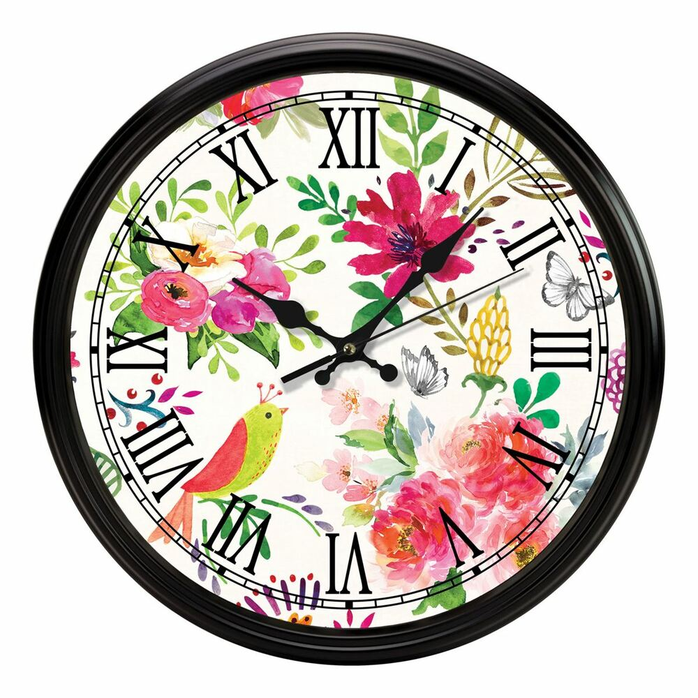 Confetti Kitchen Clock