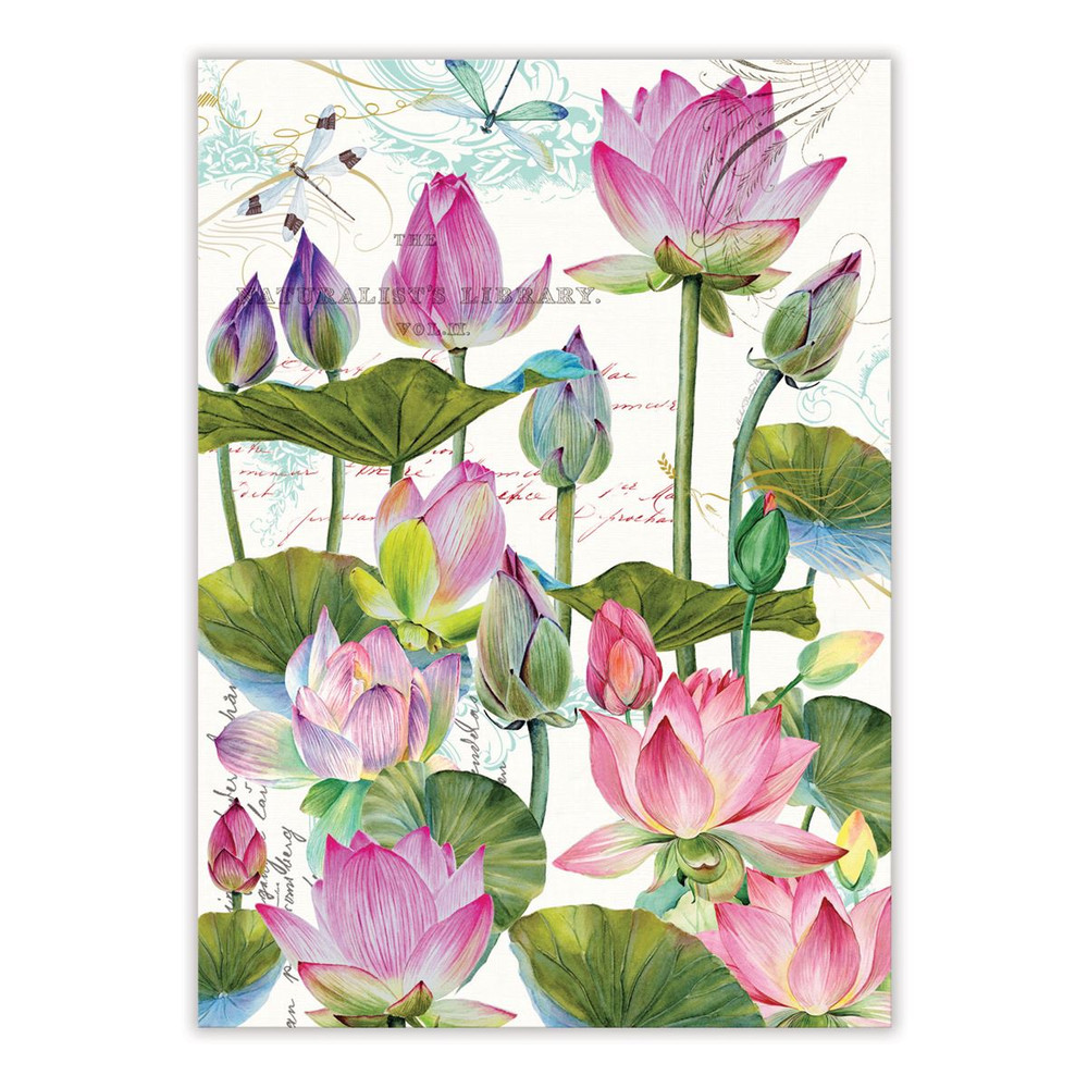 Water Lilies Kitchen Towel