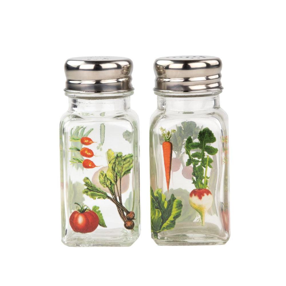 Vegetable Kingdom Salt and Pepper Set