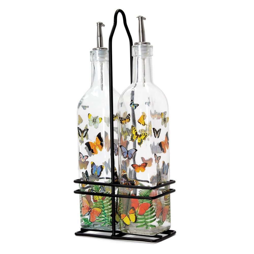 Papillon Oil and Vinegar Cruet Set