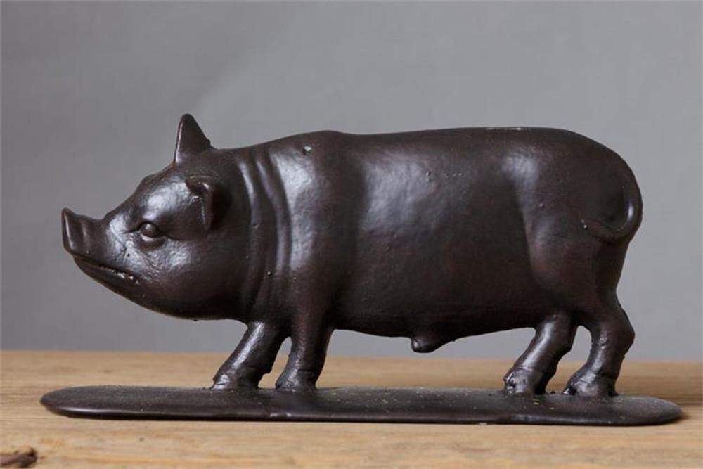 Iron Pig Doorstop