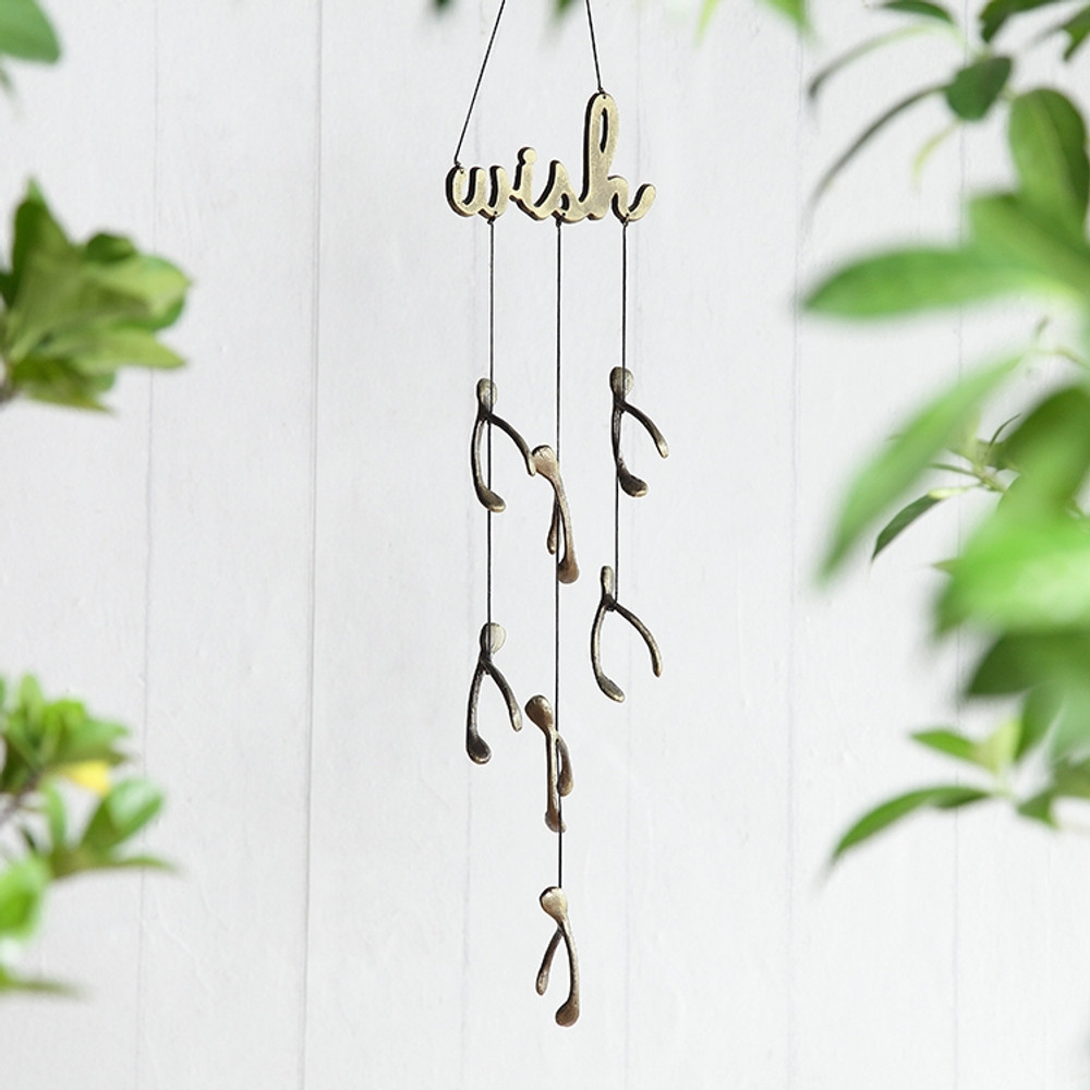 Wish Windchime with Wishbones
