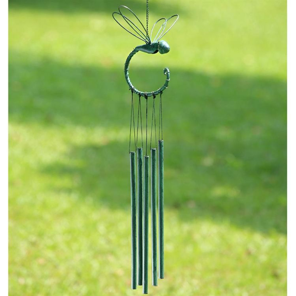Dragonfly Tube Wind Chime
