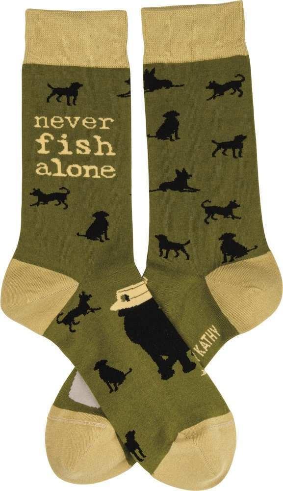 Socks - Never Fish Alone