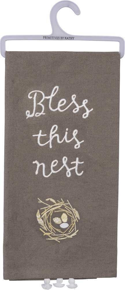 Dish Towel - Bless This Nest