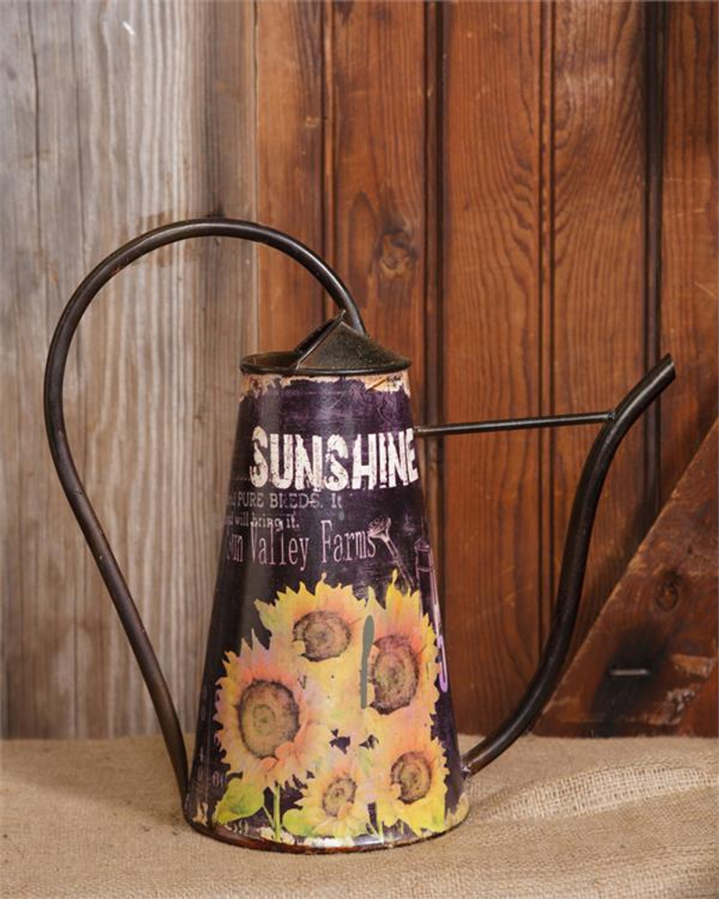 Watering Can Sunflower