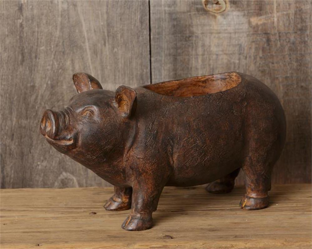 Happy Pig Planter