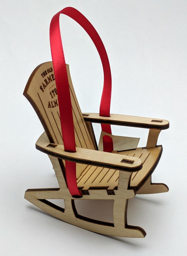 Awe Inspiring Old Farmers Almanac Adirondack Rocking Chair Ornament Theyellowbook Wood Chair Design Ideas Theyellowbookinfo