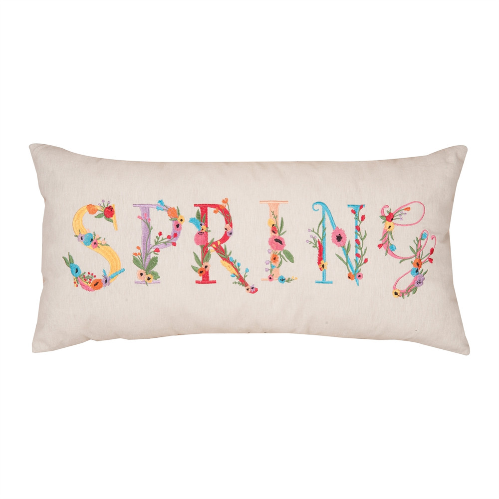[ON SALE] Spring Flowers Pillow