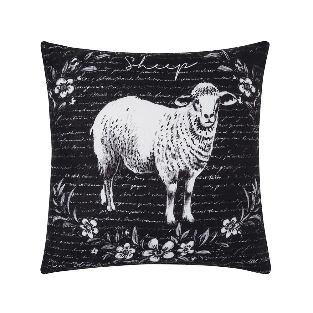Rustic Farm Sheep Pillow