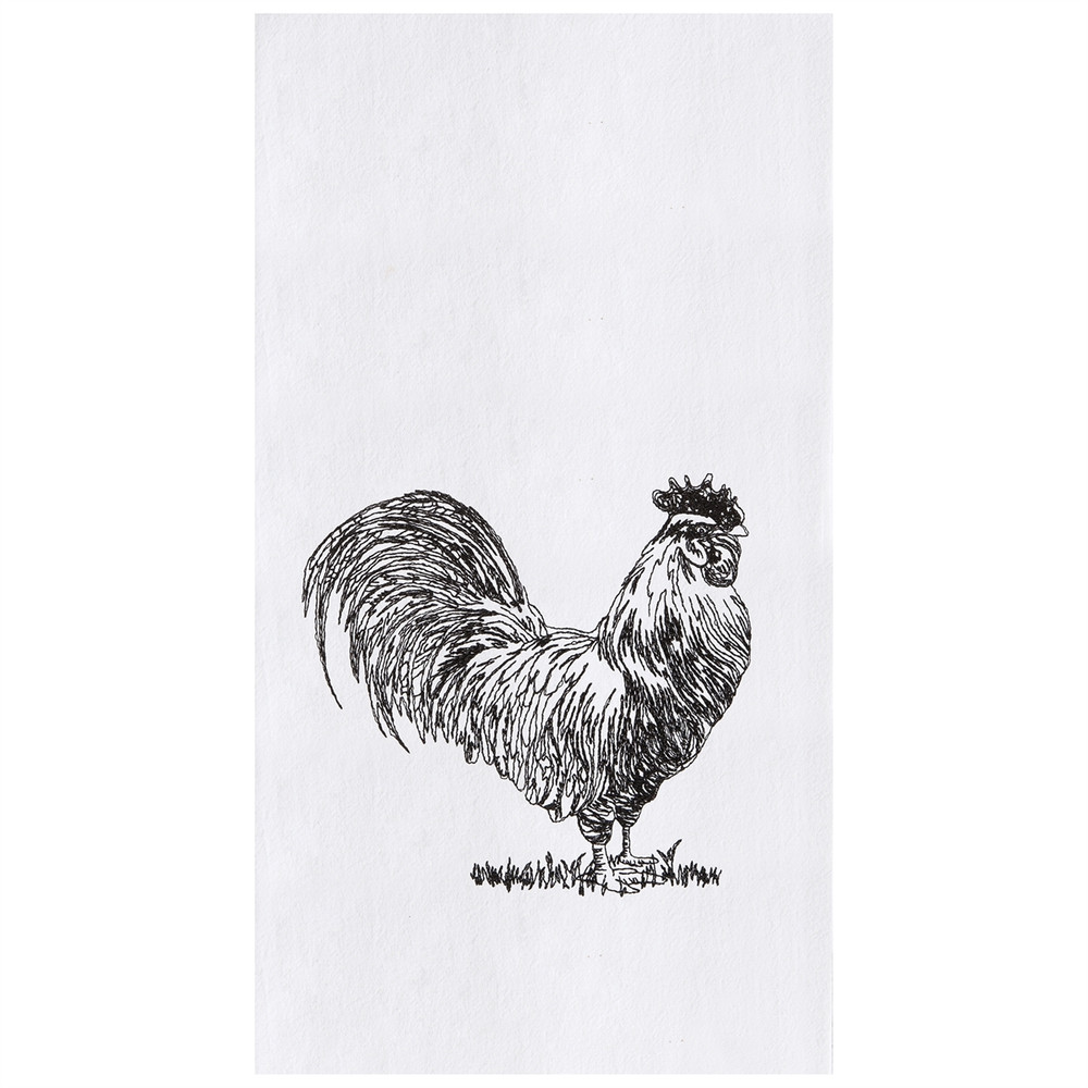 Barnyard Rooster Towel
